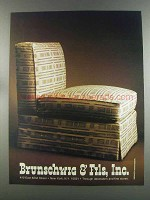 1982 Brunschwig & Fils Papago: Woven Texture Ad