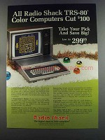 1982 Radio Shack TRS-80 Color Computer Ad