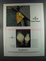 1982 Baume & Mercier Riviera Quartz Watch Ad