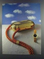 1982 Bvlgari Bulgari Watch Ad