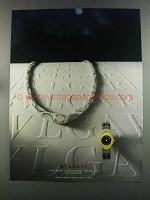 1982 Bvlgari Bulgari Watch and Necklace Ad