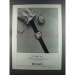 1982 Tiffany & Co. Diamond Watch by Elsa Peretti Ad