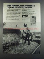 1982 FMC Furadan Ad - Pest Protection Pays Off