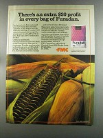 1982 FMC Furadan Ad - Extra $30 Profit in Every Bag