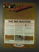 1982 Brillion Ad -Field Cultivators, Wing Pulverizers