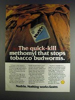 1982 Shell Nudrin Ad - Quick-Kill Methomyl