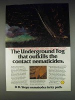 1982 Shell D-D Ad - Underground Fog That Outkills