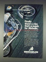 1982 Michelin A-48 and M-48 Motorcycle Tires Ad