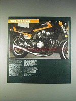 1982 S&S Headers Ad - Honda CB900F Motorcycle