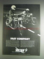 1982 Vance Hines Exhaust Systems Ad - Fast Company