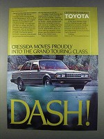 1982 Toyota Cressida Ad - Moves Proudly