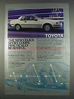 1982 Toyota Celica Sport Coupe Ad - Beautiful