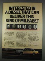 1982 Volvo Cars Ad - Deliver This Kind of Mileage