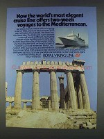 1982 Royal Viking Line Ad - Most Elegant Cruise Line
