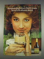 1982 Leroux Irish Cream Liqueur Ad - Almost Sinful
