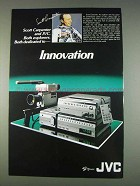 1982 JVC GX-68 Video Camera Ad - Scott Carpenter