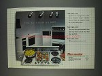 1982 Thermador Appliances Ad - The Kitchen as Art