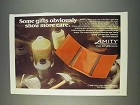 1982 Amity Tri-Fold Billfold Ad - Some Gifts