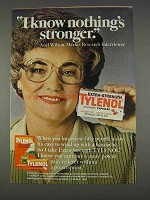 1982 Extra-Strength Tylenol Ad - Nothing's Stronger