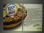 1982 McDonald's Hamburgers Ad - All-American Beef