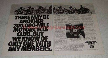 1982 BMW R65LS R65 R80 R100 R100RS R100RT Motorcycle Ad