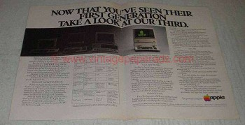 1982 Apple III Computer Ad - You've Seen Their