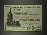 1910 American Hoist & Derrick Co. Ad - Derrick Engine