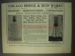 1910 Chicago Bridge & Iron Works Ad - NICE!