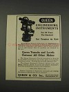 1910 Queen Transit & Level Ad - Engineering Instruments