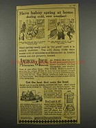 1916 American Radiators and Ideal Boilers Ad - Balmy