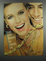 1983 Monet Jewelry Ad - You Create The Look