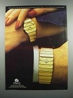 1983 Piaget Polo Watch Advertisement