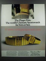 1983 Piaget Polo Watch Ad