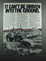 1983 Kubota L355SS Tractor Ad - Can't Be Driven