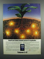1983 Dow Telone C-17 Soil Fungicide and Nematicide Ad