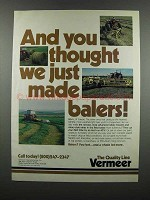 1983 Vermeer Rotary Mowers and Rotary-Style Rakes Ad