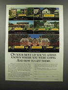 1983 Mayflower Transit Co. Ad - On Your Move Up