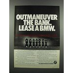 1983 BMW Motorcycles Ad - Outmaneuver the Bank