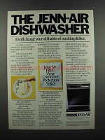 1983 Jenn-Air Dishwasher Ad - Change Old Habits