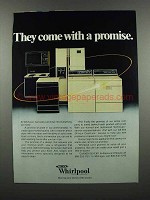 1983 Whirlpool Appliances Ad - Come With a Promise