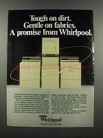 1983 Whirlpool Appliances Ad - Tough on Dirt