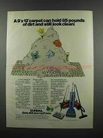 1983 Eureka Vacuum Cleaners Ad - 85 Pounds of Dirt