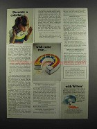 1983 Wilton Horseshoe Pan Ad - Colorful Wish