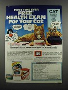 1983 9-Lives Cat Food Ad - Morris the Cat