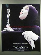 1983 Petochi & Gorevic Silver Candlestick Ad