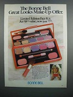 1983 Bonne Bell Limited Edition Face Kit Make-Up Ad