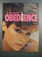 1983 Dep The Hair Manager Styling Liquid Ad - Obedience