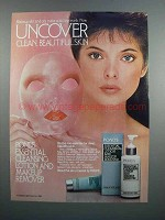1983 Pond's Essential Cleansing Lotion & Remover Ad