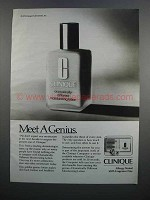 1983 Clinique Dramatically Different Lotion Ad