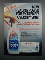 1983 Vaseline Intensive Care Lotion Ad - Healing Power